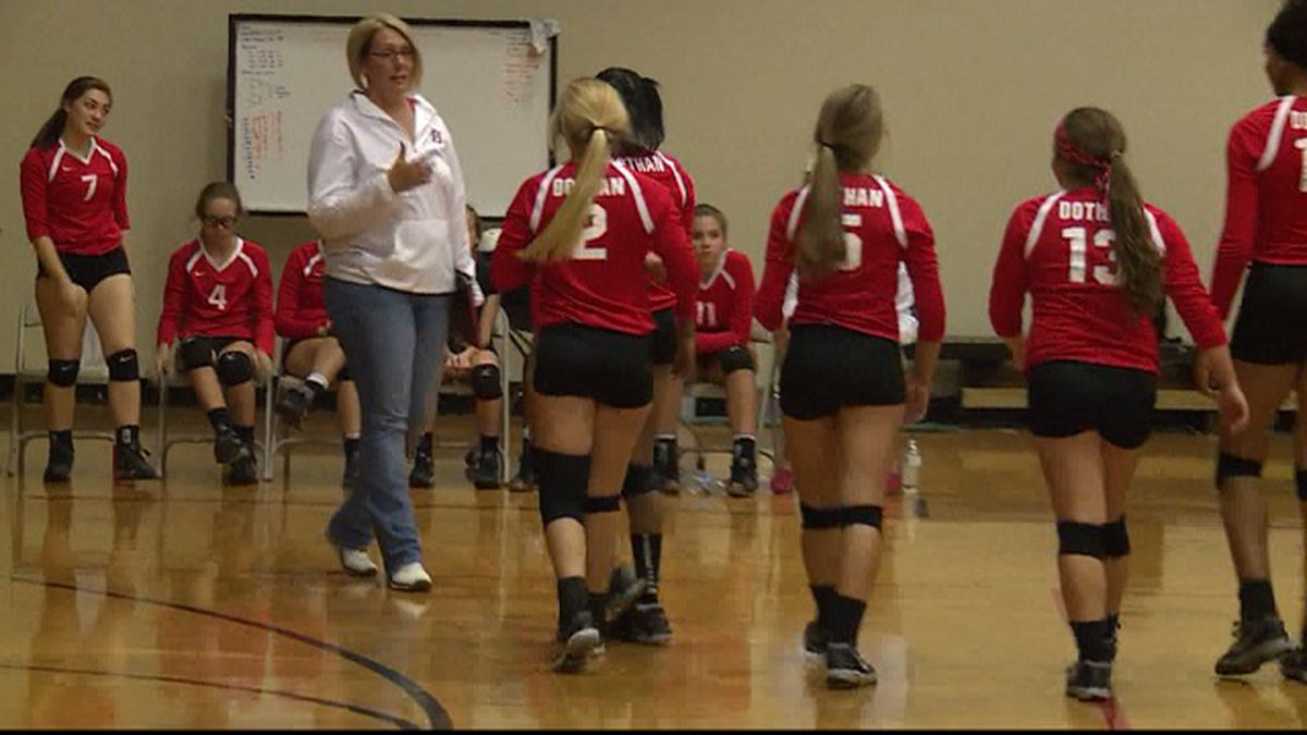On the prep volleyball court Tuesday evening, the Dothan Lady Tigers were celebrating Senior night in the Circle City.