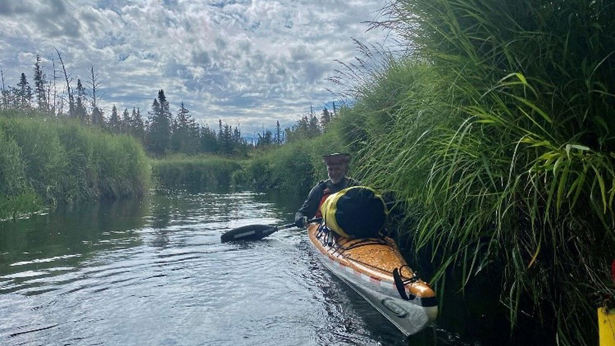 Gulfport resident Stan Stark is just now beginning a 90-day solo kayaking journey down the...