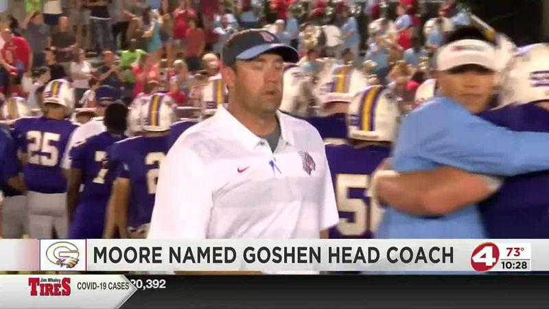Don Moore named Goshen head football coach