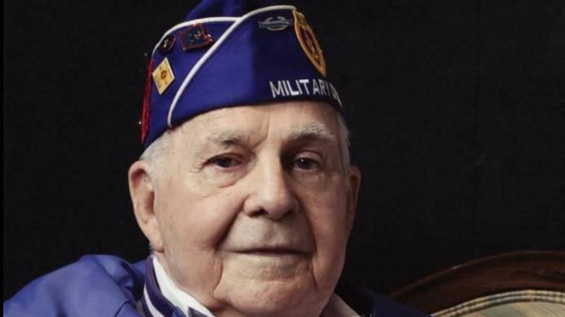 WW II Veteran George Mills
