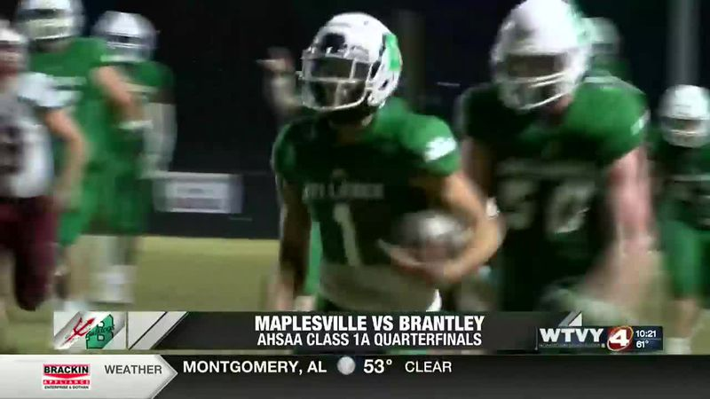 Brantley survives Maplesville to advance to Class 1A semifinals