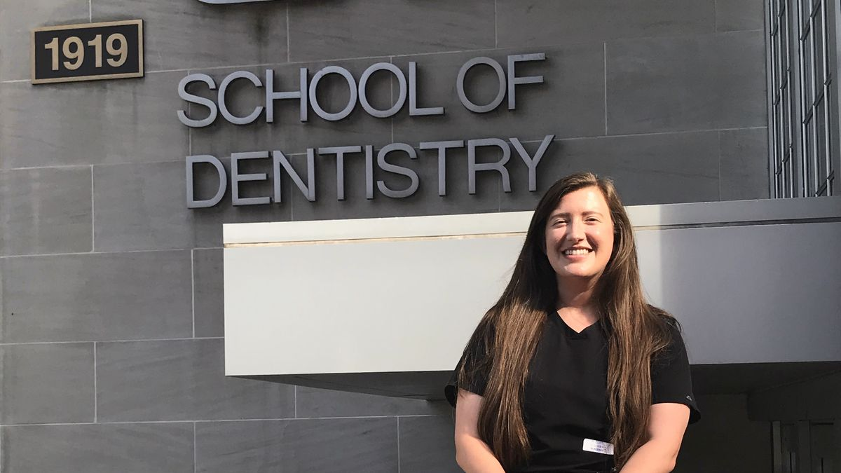Lauren Anderson is in her first semester at UAB in dental school, a life-long dream of hers.