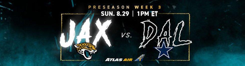 Jacksonville Jaguars at Dallas Cowboys from AT&T Stadium