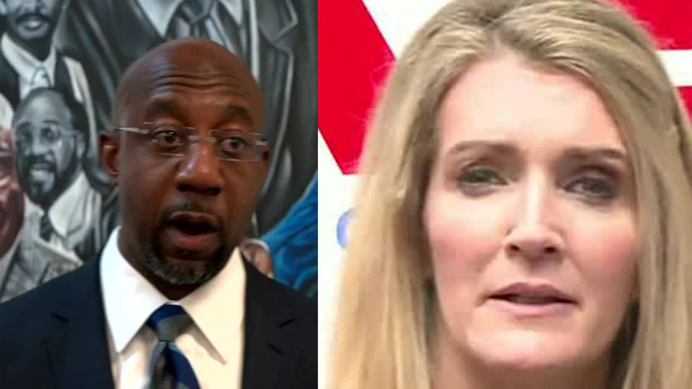 Sen. Kelly Loeffler will face Rev. Raphael Warnock in the Georgia Senate runoff on Jan. 5, 2021.