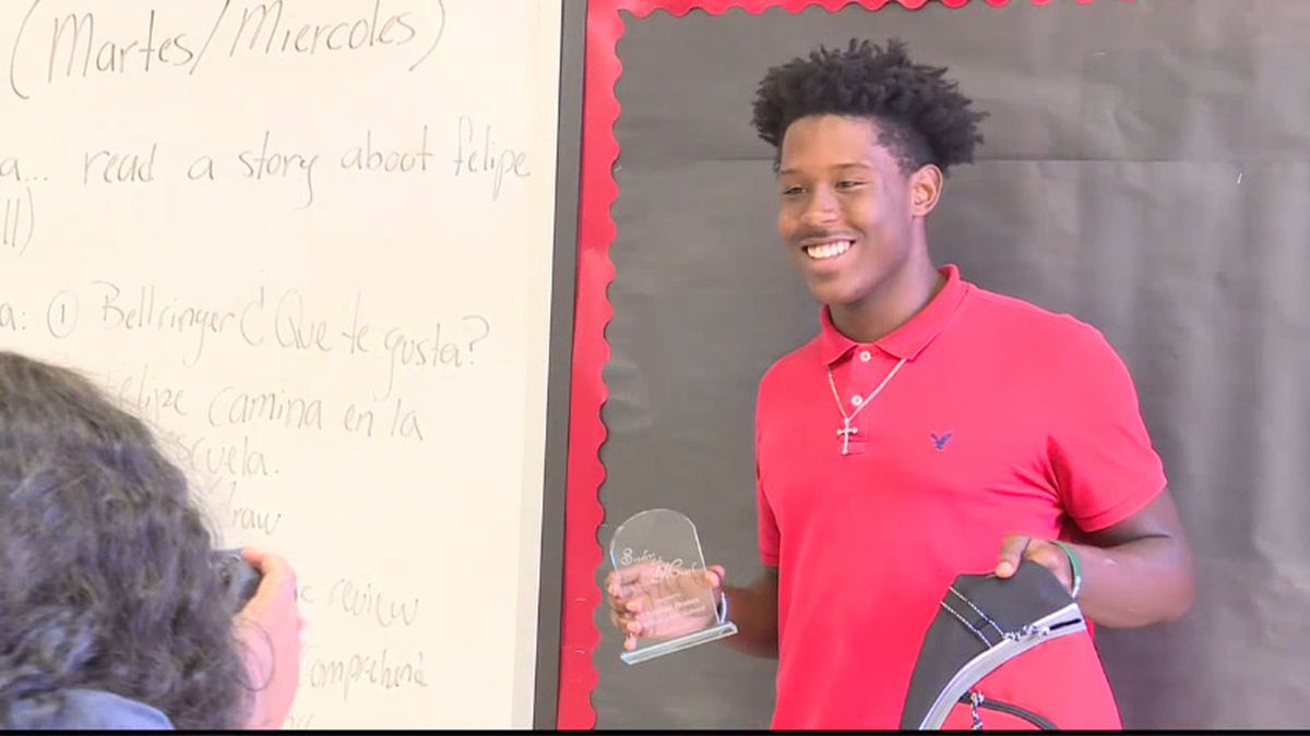 WTVY & McDonalds Student of the Month for September 2019, Christian Drakes (Source: WTVY)