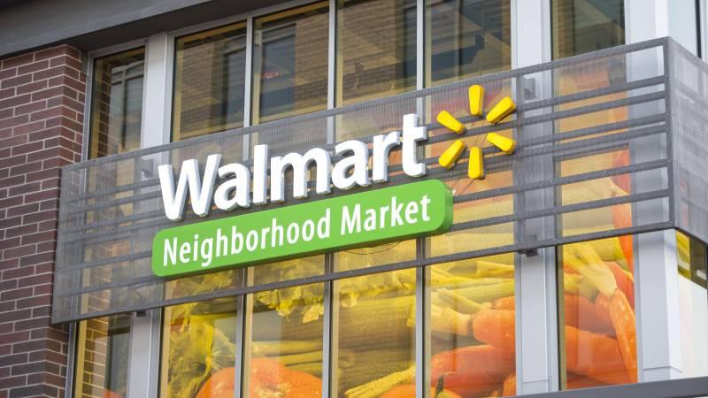 Walmart Neighborhood Market file photo.