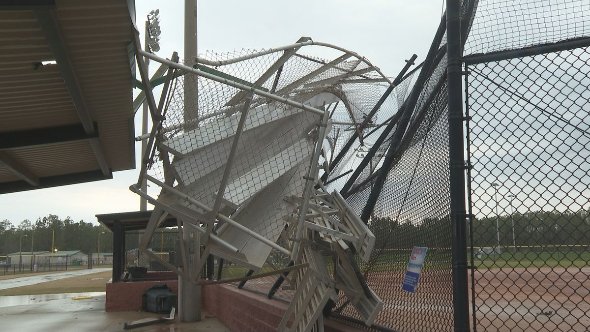 NWS meteorologists confirm a tornado touched down in Panama City Beach.