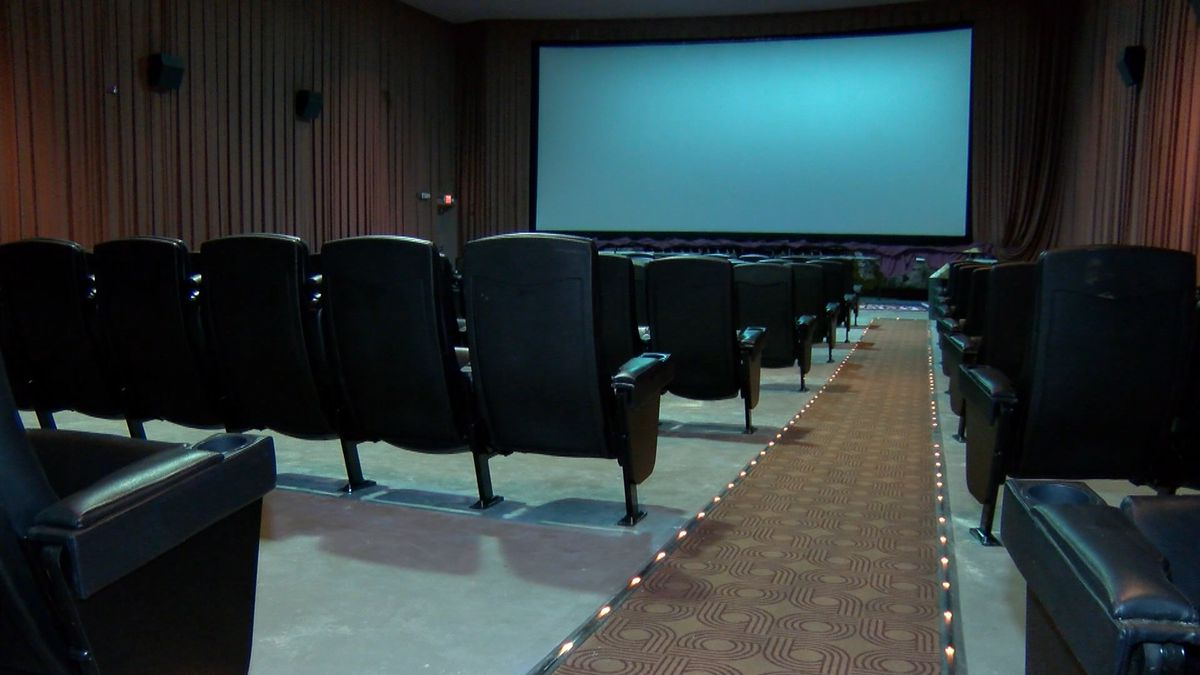 About 1,800 old seats have been removed from the theaters as part of Eastdale Mall's...