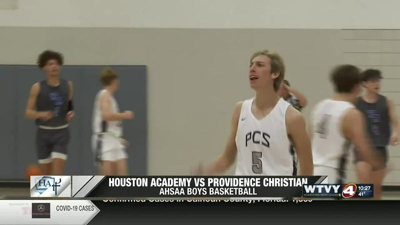 Providence Christian downs Houston Academy at home