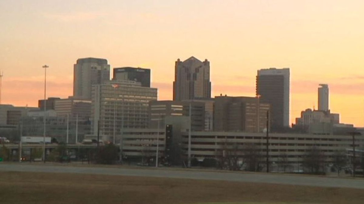 Birmingham, AL city skyline (Source: WBRC)