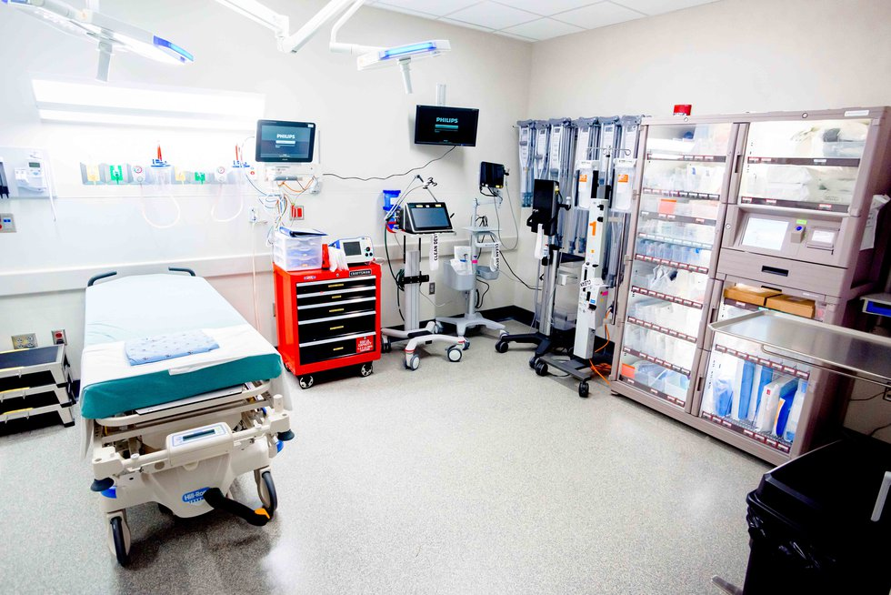 The 12-bed, Level III trauma center will offer patients another option for emergency services...