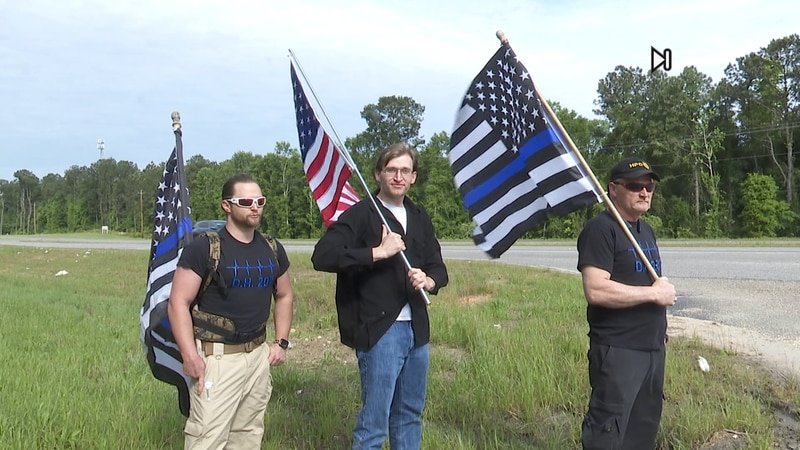 From left to right is pictures Rudon, Jason and Bobby Brannon. The father and his sons spent...