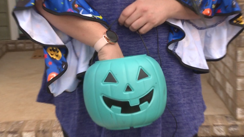 The Teal Pumpkin Project encourages people to have non-food options on hand for kids who have...