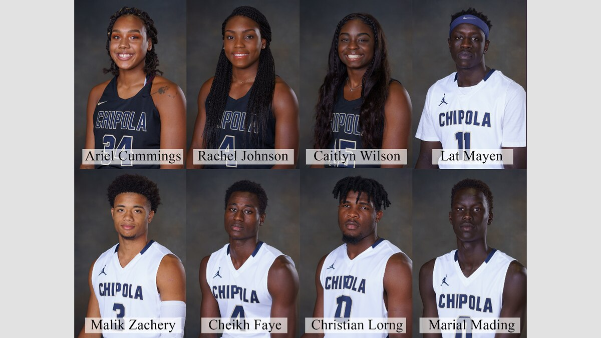 Eight Chipola basketball players signed scholarships to play at the Division 1 level this week. (Source: Chipola College)