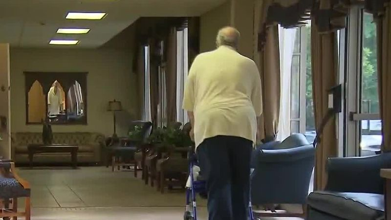 Nursing home residents are feeling lonely and isolated during the coronavirus pandemic.