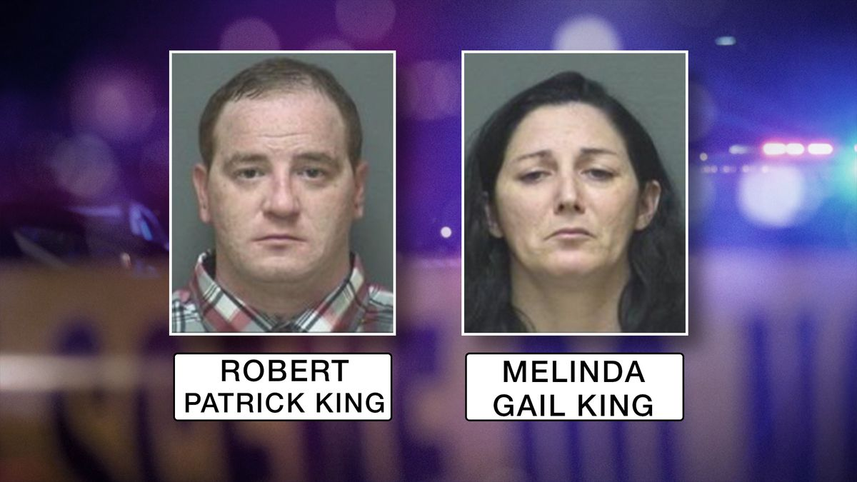 Robert and Melinda King have been arrested and charged with manslaughter in the death of their...