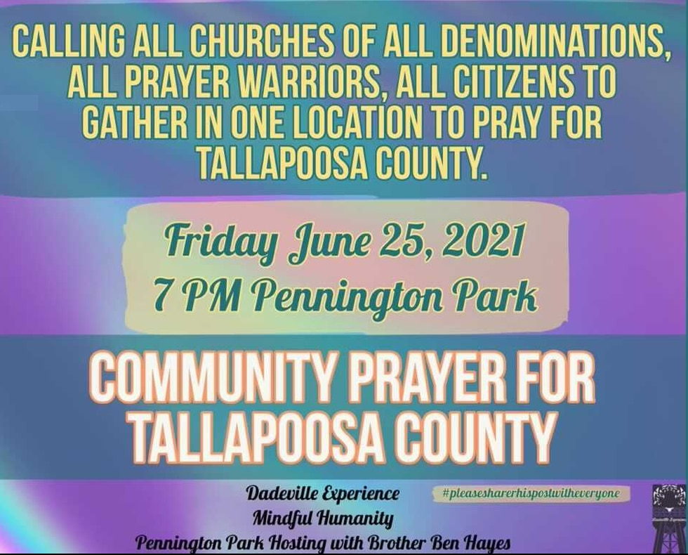 A vigil will be held Friday in Dadeville to honor the 8 young lives lost.