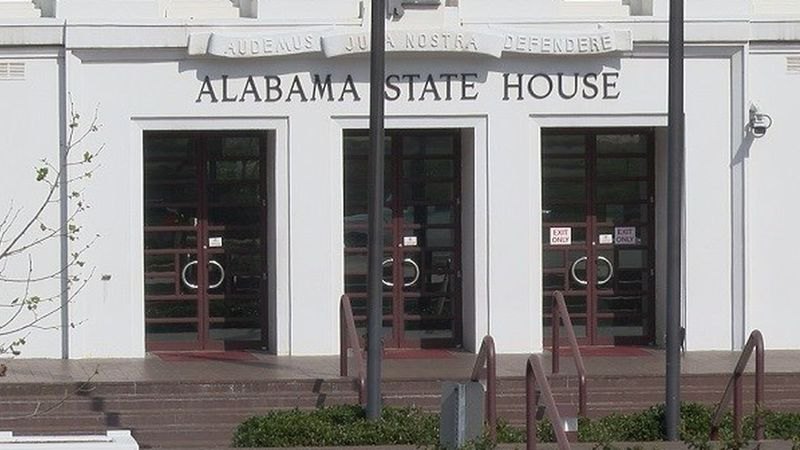 The Alabama Statehouse
