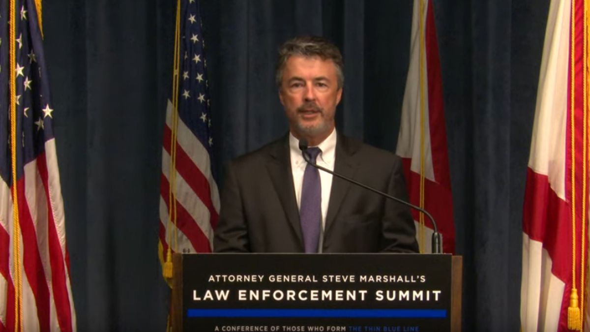 Attorney General Steve Marshall hosted the 21st annual Law Enforcement Summit on October 15,...