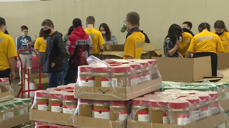 The non-profit is getting ready to distribute hundreds of toys, food, and clothing to families,...