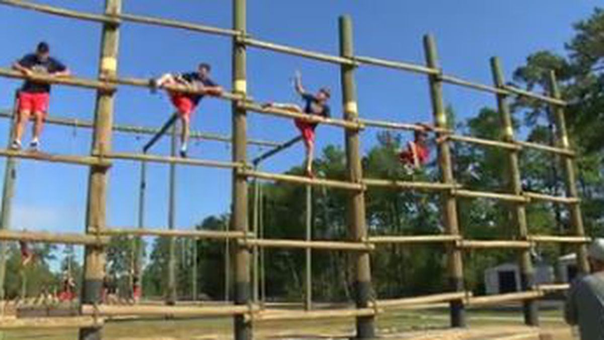 Auburn baseball team trains like Army Rangers (Source: WTVM)