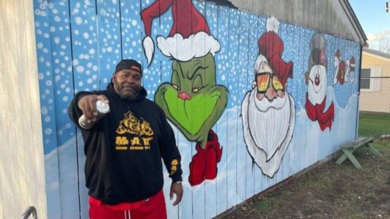 Paul Morse absolutely adores art, especially spray paint, and this holiday season, he's hoping...