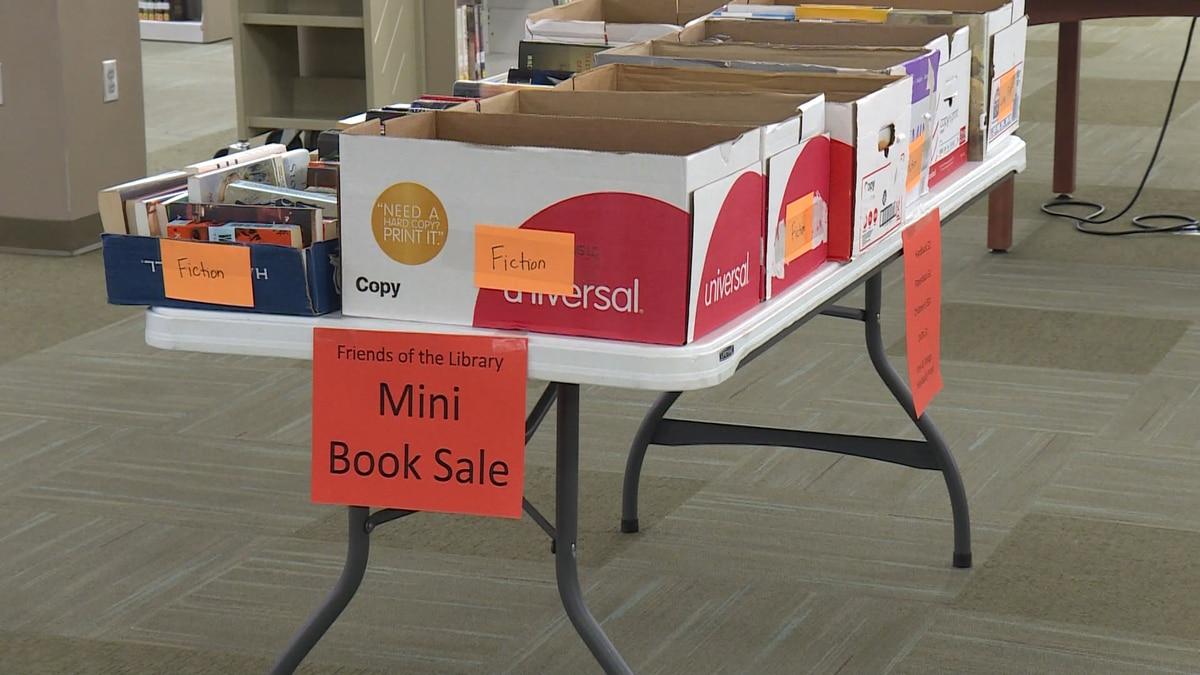 Mini book sale underway