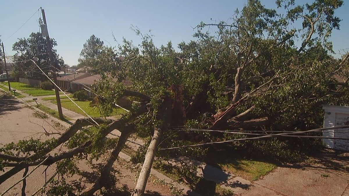 Hundreds of thousands in the Metro New Orleans area are without electricity despite Zeta's...