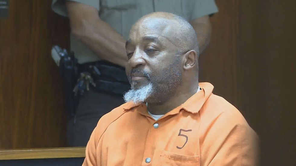Pastor Kenneth Glasgow in court in this 2018 file photo.
