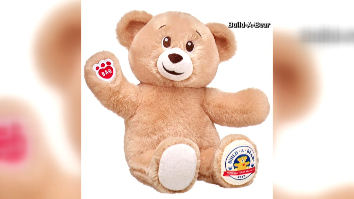 National Teddy Bear Day is this coming Saturday, and in celebration, Build-a-Bear will let you...