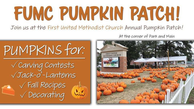 FUMC pumpkin patch