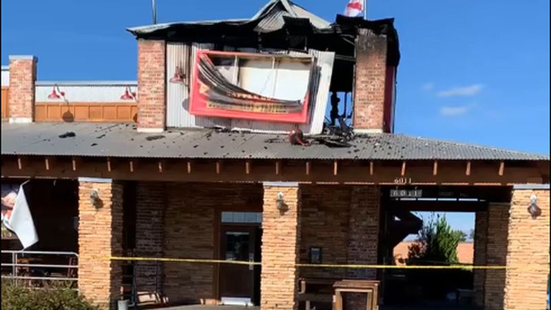A fire early Tuesday severely damaged Santa Fe Cattle Company, a popular Enterprise restaurant.