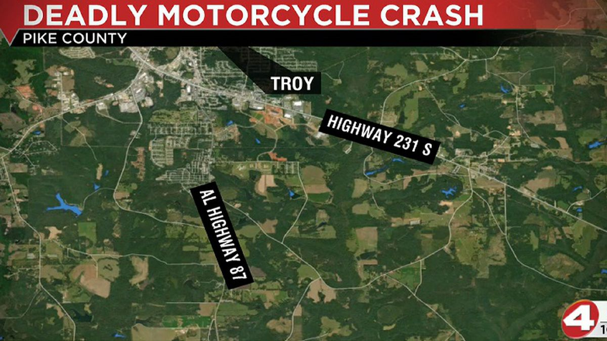 Troopers say a GMC Sierra traveling north on Alabama 87, about 10 miles south of Troy city...