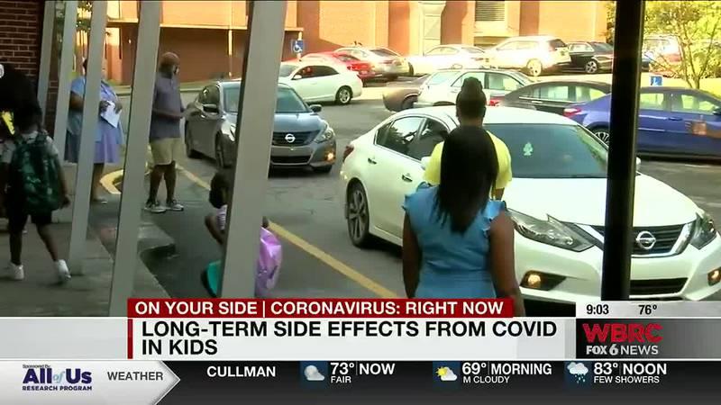 Long term covid effects in kids
