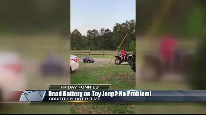 Friday Funnies: No Battery, No Problem