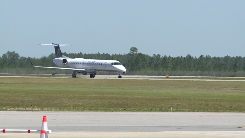 Northwest Florida Beaches International Airport passenger numbers for April broke records.