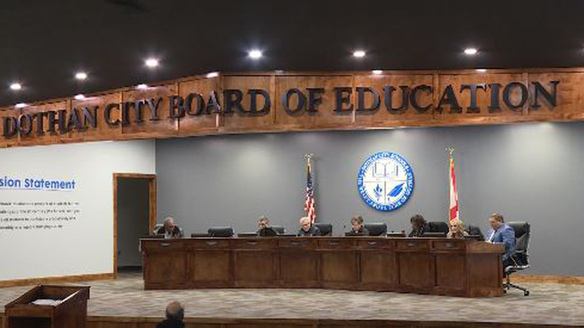 The Dothan City School Board met for a work session to discuss overtime and job descriptions....